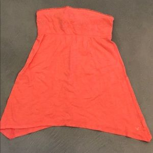 American eagle strapless top